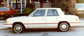 1983 Dodge Aires